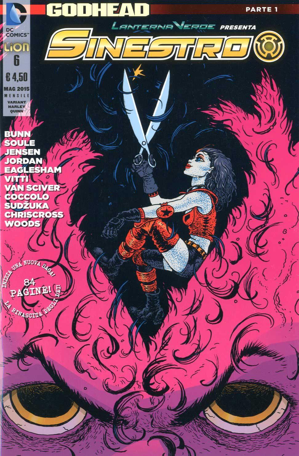 Lanterna Verde presenta: Sinestro n. 6 - Variant Harley Quinn
