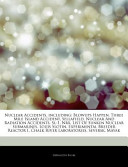 Articles on Nuclear Accidents, Including