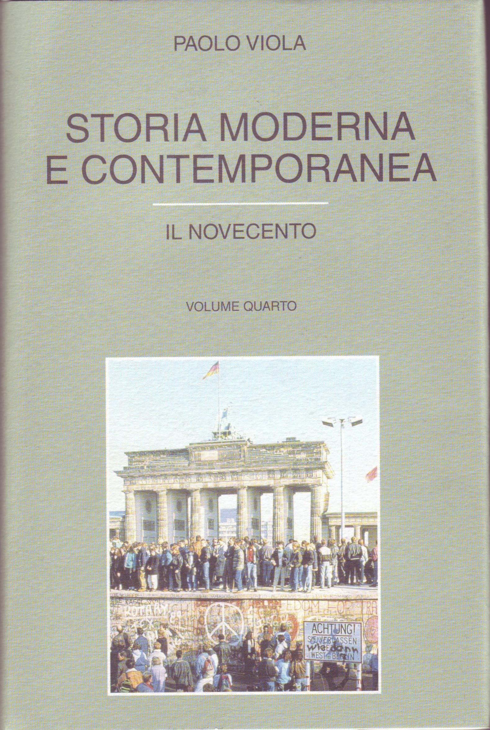 Storia Moderna e Contemporanea - Vol. 4