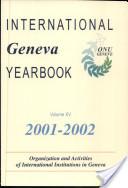 International Geneva Yearbook 2001/2002