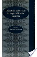 Literature and society in imperial Russia, 1800-1914
