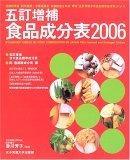 五訂増補食品成分表〈2006〉
