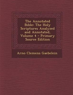 The Annotated Bible