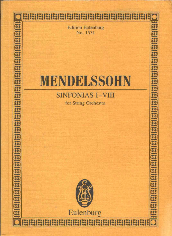 Sinfonias I-VIII