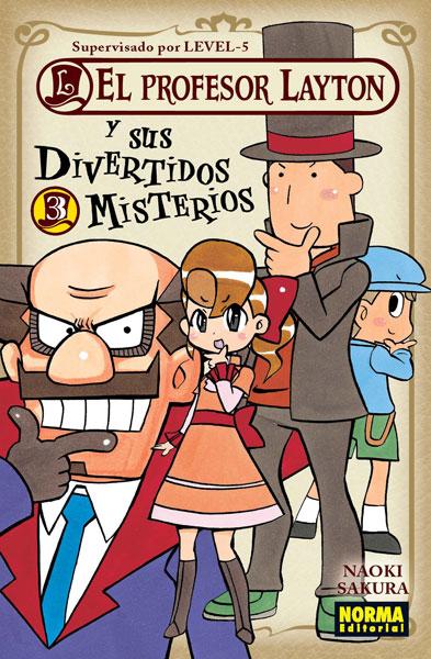 El profesor Layton y sus divertidos misterios #3 (de 4)