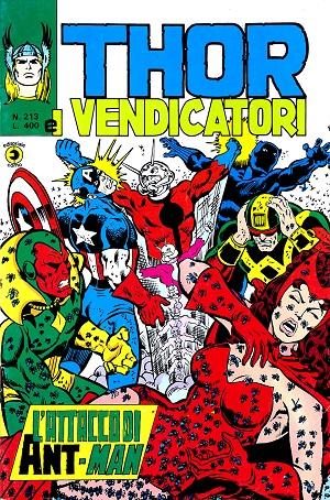 Thor e i Vendicatori (Il Mitico Thor) n. 213