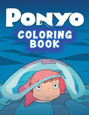 Ponyo Coloring Book