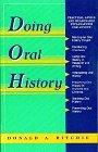 Oral History Series - Doing Oral History