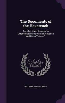 The Documents of the Hexateuch
