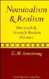 Nominalism and Realism
