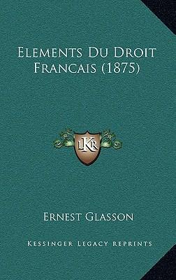 Elements Du Droit Fr...