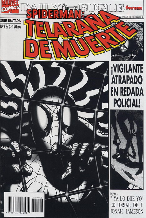 Spiderman: Telaraña de muerte #2 (de 3)