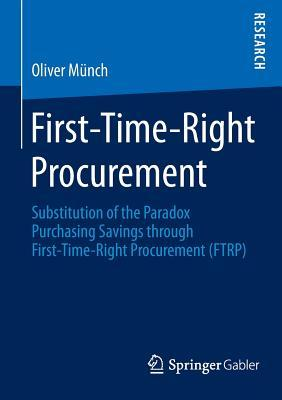 First-time-right Procurement