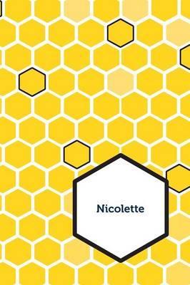 Etchbooks Nicolette, Honeycomb, Wide Rule