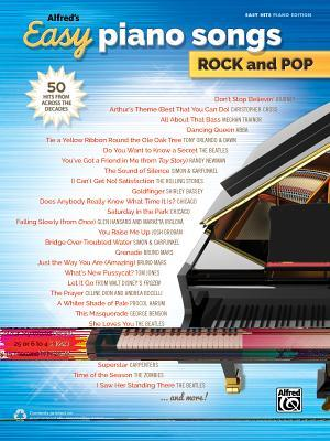 Alfred's Easy Piano Songs Rock and Pop