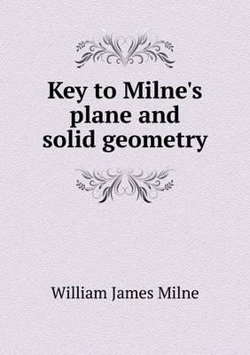 Key to Milne's Plane...