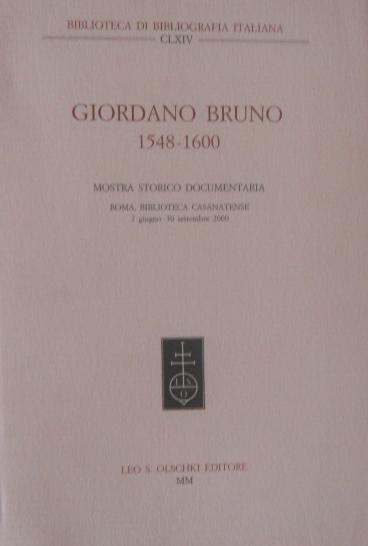 Giordano Bruno (1548...