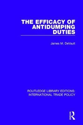 The Efficacy of Antidumping Duties