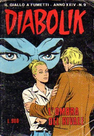 Diabolik anno XXIV n. 9
