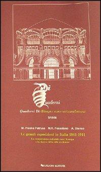 Le grandi esposizioni in Italia, 1861-1911