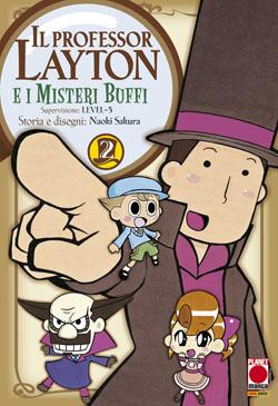 Il professor Layton e i misteri buffi vol. 2