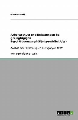Arbeitsschutz und Belastungen bei geringfügigen Beschäftigungsverhältnissen (Mini-Jobs)
