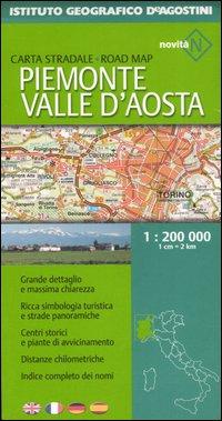 Piemonte e Valle d'Aosta 1:200 000