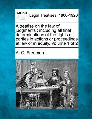 A Treatise on the Law of Judgments
