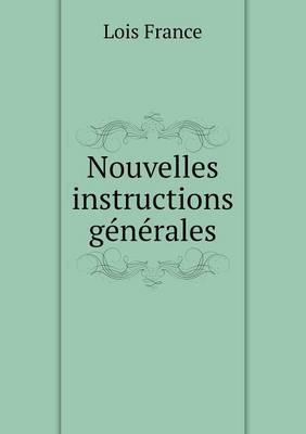 Nouvelles Instructions Generales