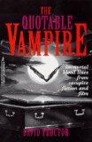 The Quotable Vampire