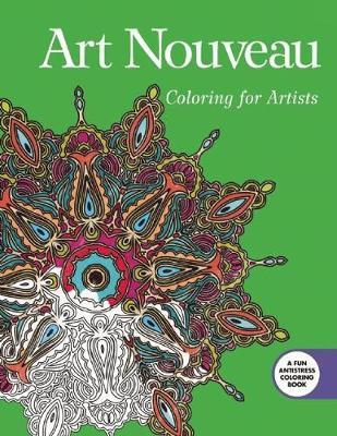 Art Nouveau Adult Coloring Book