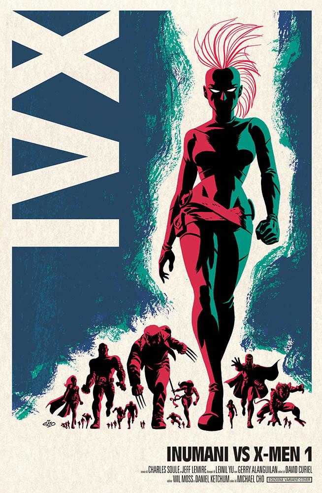 Inumani vs. X-Men #1...