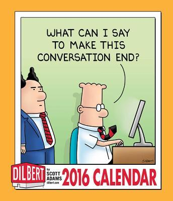 Dilbert Weekly Planner 2016 Calendar