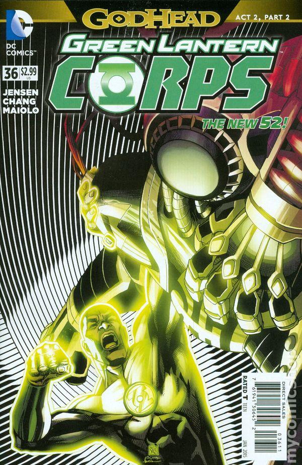 Green Lantern Corps Vol.3 #36