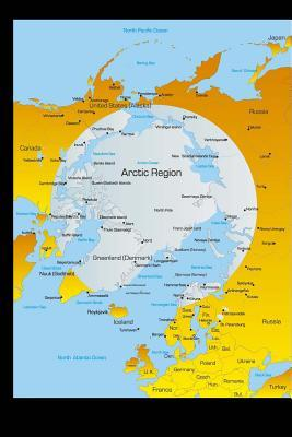 Map of the North Pole - Arctic Region Journal