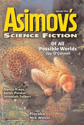 Asimov's Science Fiction, August 2014