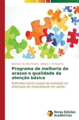 Programa de melhoria do acesso e qualidade da atenção básica