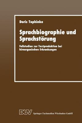 Sprachbiographie Und Sprachstörung