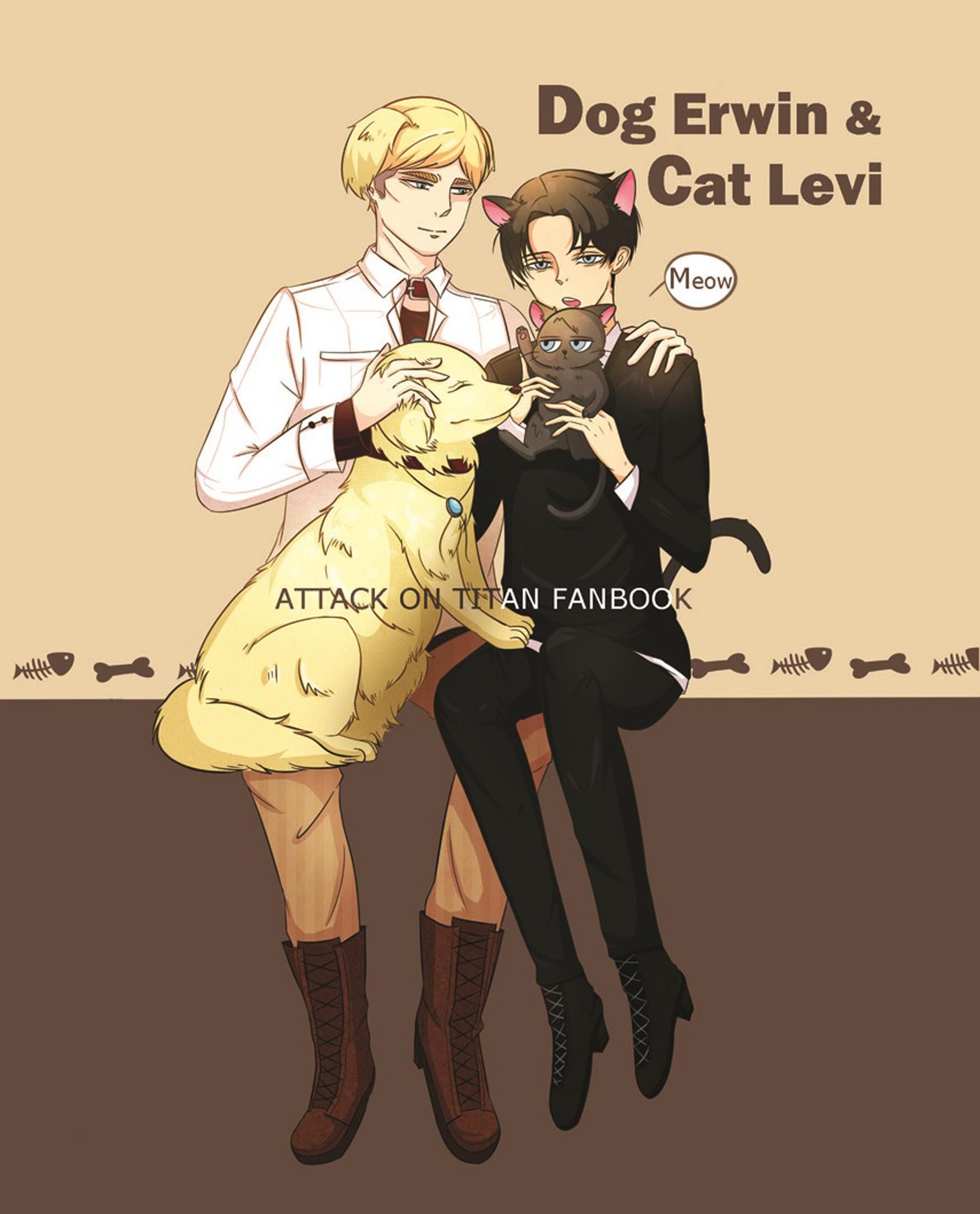 Dog Erwin & Cat Levi
