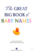 The great big book of baby names