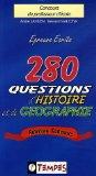 280 questions d'histoire et de géographie