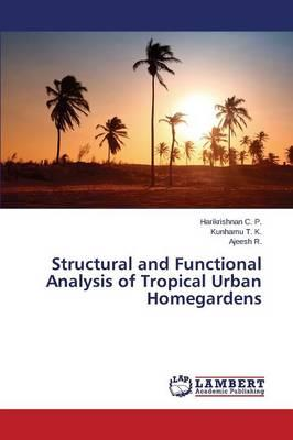 Structural and Functional Analysis of Tropical Urban Homegardens