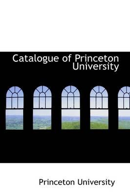Catalogue of Princeton University