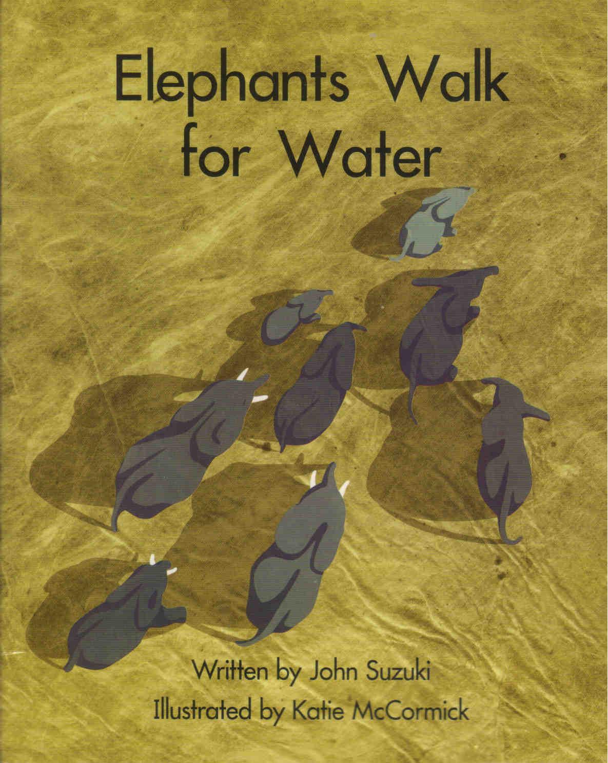 Elephants Walk for Water