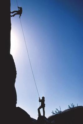The Rock Climbing Lined Journal