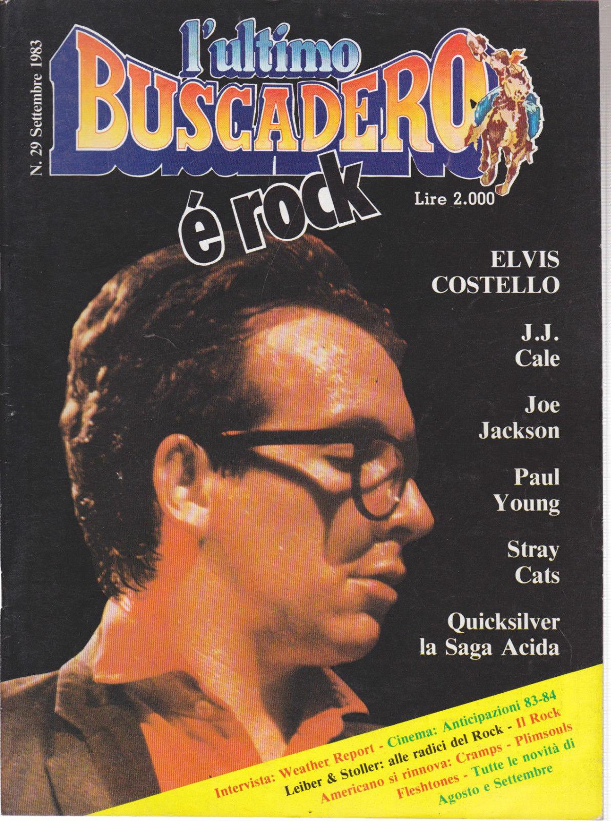 L'ultimo buscadero n. 29 (settembre 1983)