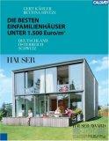 Die besten Einfamilienhaeuser unter 1.500 Euro/m². Deutschland, Oesterreich, Schweiz