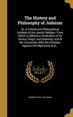 HIST & PHILOSOPHY OF JUDAISM