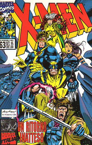 Gli Incredibili X-Men n. 063
