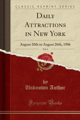 Daily Attractions in New York, Vol. 6
